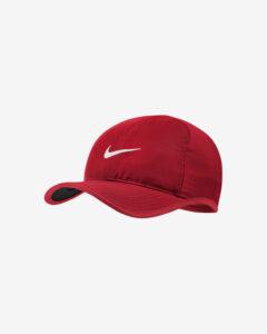Nike Aerobill Featherlite Šiltovka Červená
