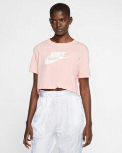 Nike Essential Tričko Ružová