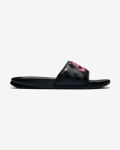 Nike Benassi Just Do It Šľapky Čierna