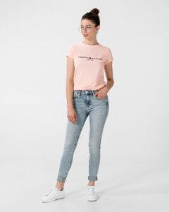 Tommy Hilfiger Essential Tričko Ružová Béžová