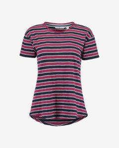 O'Neill Wide Stripe Tričko Červená Fialová