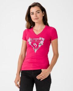 Guess Britney Tričko Ružová