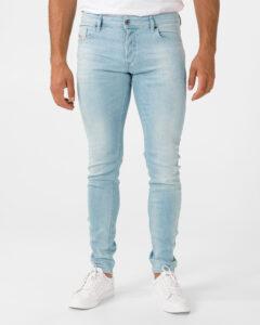 Diesel Troxer Jeans Modrá