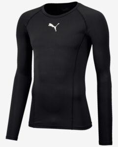 Puma Liga Baselayer Tričko Čierna Viacfarebná