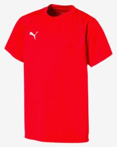 Puma Liga Training Tričko detské Červená Viacfarebná