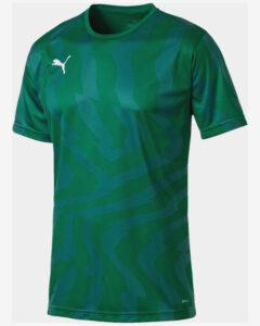 Puma Cup Core Tričko Zelená Viacfarebná