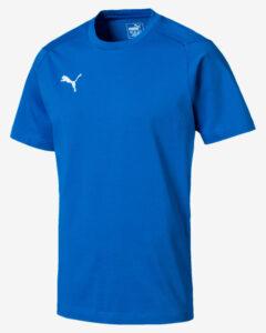 Puma Liga Casuals Tričko Modrá Viacfarebná