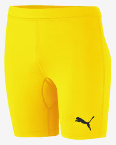 Puma Liga Baselayer Legínsy Žltá Viacfarebná