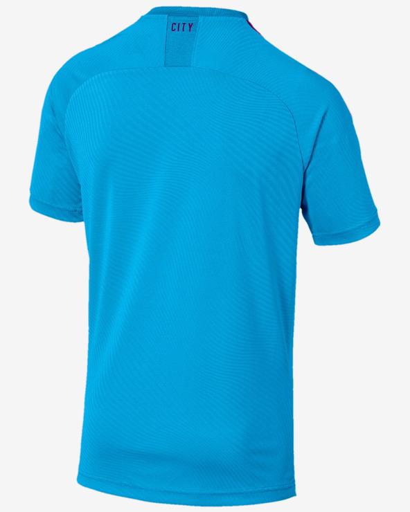 Puma Mcfc Home Replica Tričko Modrá Viacfarebná