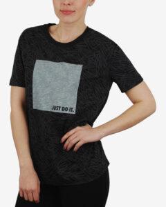 Nike Aop Palm Tričko Čierna