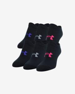 Under Armour Essentials Ponožky detské 6 párov Čierna