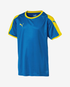 Puma Liga Jersey Tričko detské Modrá Žltá