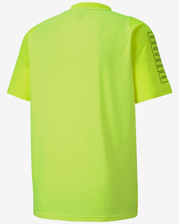 Puma Power Thermo R+ Tričko Žltá Viacfarebná