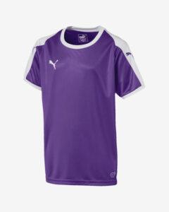 Puma Liga Jersey Tričko detské Biela Fialová
