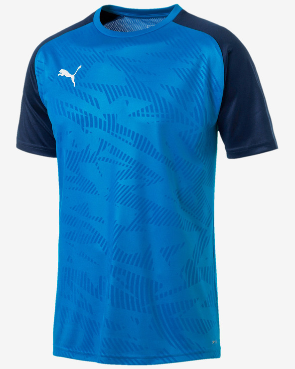 Puma Cup Training Core Tričko Modrá Viacfarebná