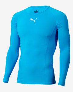 Puma Liga Baselayer Tričko Modrá Viacfarebná