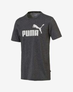 Puma Essentials+ Heather Tričko Šedá Viacfarebná