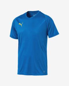 Puma Liga Core Tričko Modrá Viacfarebná
