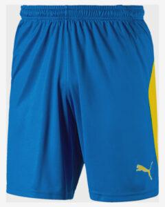 Puma Liga Kraťasy Modrá Žltá Viacfarebná