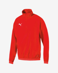 Puma Liga Training Windbreaker Bunda Červená Viacfarebná