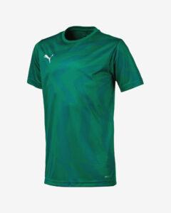 Puma Cup Jersey Core Tričko detské Zelená