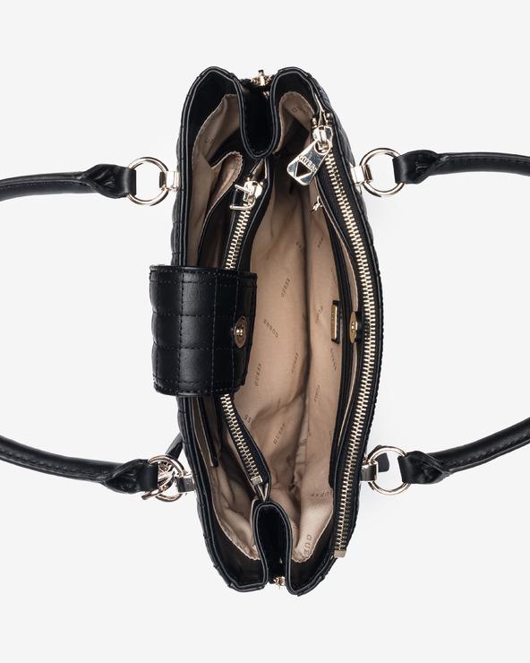 Guess Matrix Luxury Kabelka Čierna