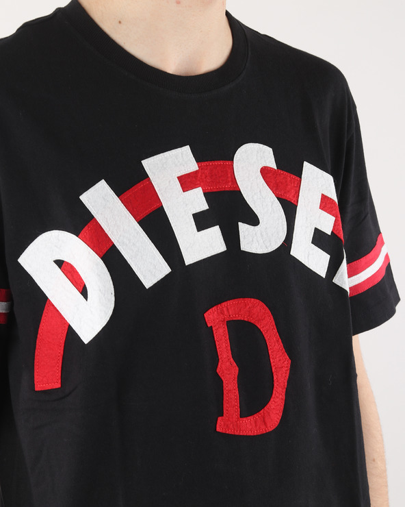 Diesel Joe-Ar Tričko Čierna Viacfarebná
