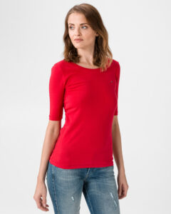 Tommy Hilfiger Essential Tričko Červená