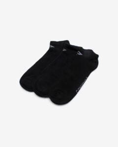 Converse Skarpety Ponožky 3 páry Čierna