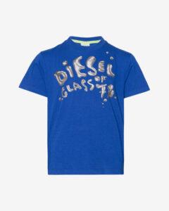 Diesel Tričko detské Modrá Viacfarebná