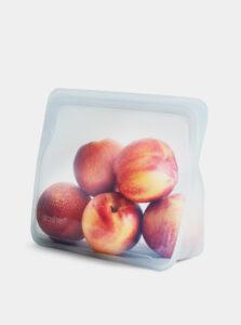 Transparentný silikónový sáčok na potraviny Stasher Stand up 1,66 l
