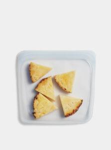 Transparentný silikónový sáčok na potraviny Stasher Sandwich 450 ml