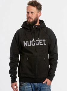 Čierna pánska mikina NUGGET Ironsight