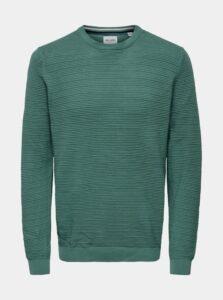 Zelený sveter ONLY & SONS Nathan
