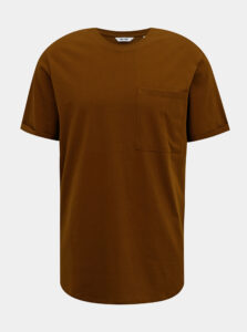 Hnedé tričko ONLY & SONS Gavin