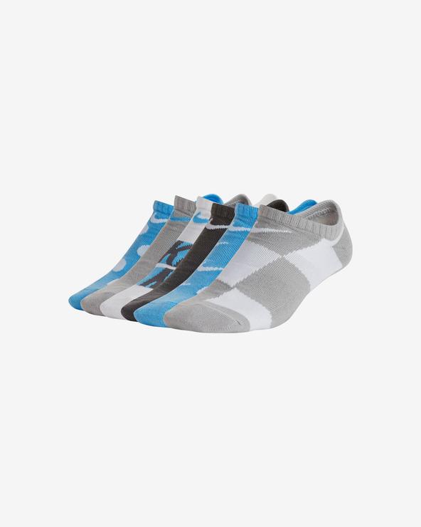 Nike Everyday Ponožky 6 párov detské Modrá Biela Šedá