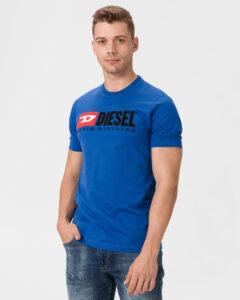 Diesel Just Division Tričko Čierna Modrá