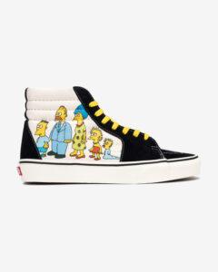 Vans The Simpsons Sk8-Hi Tenisky Čierna Biela