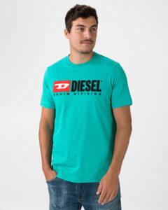 Diesel Just Division Tričko Modrá Zelená