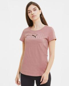 Puma Rebel Graphic Tričko Ružová