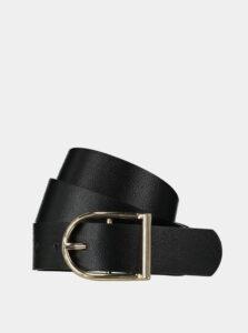 Čierny dámsky kožený opasok Haily´s