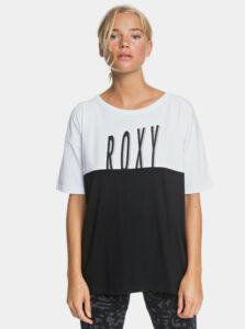 Bielo-čierne tričko Roxy