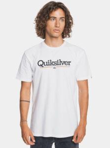 Biele tričko Quiksilver