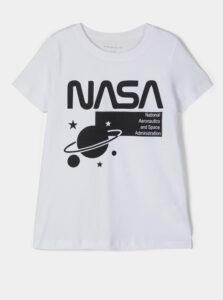 Biele dievčenské tričko name it Nasa