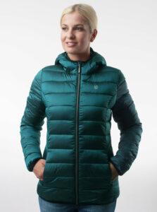 Zelená dámska prešívaná bunda LOAP