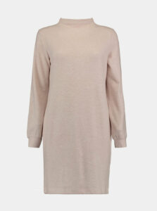 Béžové svetrové šaty Haily´s