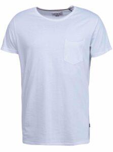 Biele tričko s krátkym rukávom Shine Original Andy