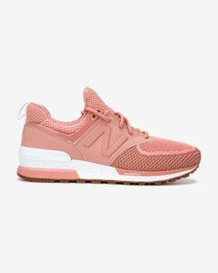 New Balance 574 Tenisky Ružová Béžová