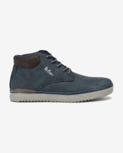 Lee Cooper Členková obuv Modrá