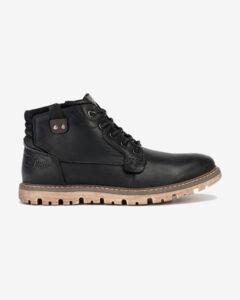 Lee Cooper Členková obuv Čierna